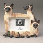 Dog Picture Frame - Siamese (4x6)