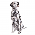 Dog Shaped Clock - Dalmatian