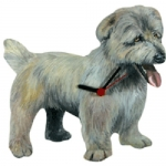 Dog Shaped Clock - Sealyham Terrer