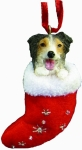 Dog Stocking Ornament - Aussie