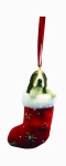 Dog Stocking Ornament - Basset Hound