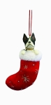 Dog Stocking Ornament - Boston Terrier