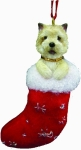 Dog Stocking Ornament - Cairn Terrier