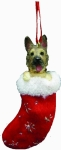 Dog Stocking Ornament - German Shepherd
