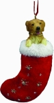 Dog Stocking Ornament - Golden Retriever