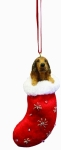 Dog Stocking Ornament - Irish Setter
