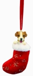 Dog Stocking Ornament - Jack Russell