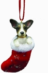 Dog Stocking Ornament - Rat Terrier