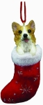 Dog Stocking Ornament - Welsh Corgi