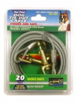 DOG TIE-OUT CABLE 15FT HEAVY WT