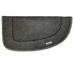 Double Layer Felt Western Saddle Pad - Round
