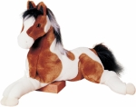 Douglas Natches Indian Tri-Color Paint Horse