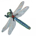 Dragonfly Shaped Clock