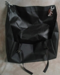 Driving Horse Waterproof Black Diaper/Manure Bag