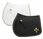 E COUTURE Fleur-De-Lis All Purpose Saddle Pad