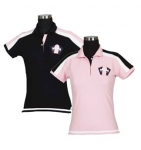 E COUTURE Ladies Pacific Short Sleeve Polo Shirt