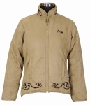 E COUTURE Ladies Valencia Suede Jacket