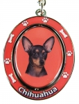 E&S Pets KC-11 Chihuahua Dog Key Chain