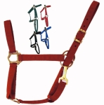 Economy Nylon Foal Halter Red Suckling