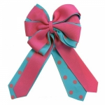 Ellie's Bow Pink and Light Blue