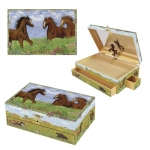 Enchantmints Prairie Horse Musical Jewelry Box