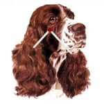 English Springer Spaniel Shaped Clock