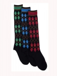 EPONA Diamond Argyle Boot Socks