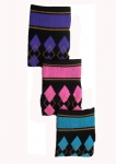 EPONA Diamond Argyle BRIGHT Riding Boot Socks
