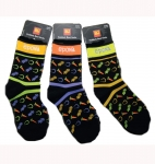 EPONA Equestrian Adult Happy Go Lucky Boot Socks