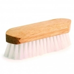 Equestria Sport Soft Clear Poly Fiber Body Grooming Brush