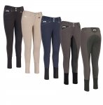 Equine Couture Ladies Blakely Full Seat Breeches w/ Contrast Saddle