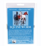 EQUINE WORM TEST AT HOME