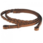 Exselle Elite Laced Leather Reins Oversize