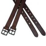 Exselle Elite Stirrup Leathers in Australian Nut