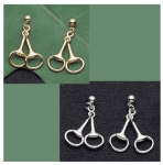 Exselle Horse Snaffle Bit Earrings