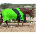 Exselle Prima Blanket-Lime with Black  74  Lime Green/Black