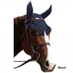 Fancy Crochet Fly Veil Oversize/Large Horse