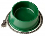 Farm Innovators 1 Quart Heated Bowl QT-1, Green, 25 Watts