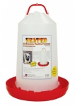 Farm Innovators Heated Poultry Fountain Plastic - 3 gallon