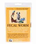 FECAL WORM TEST AT HOME