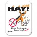 Fergus Barn Sign - Do Not Smoke