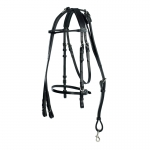 Finn-Tack Classic Complete Leather Training Bridle