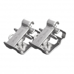 Finn-Tack QH Couplers,Stainless Steel, w/Logo