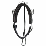 Finn-Tack QH Extreme Racing Harness Saddle, Synthetic