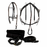 Finn-Tack QH training harness, complete, wide
