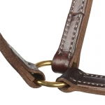 Finn-Tack Trotting leather halter, 20mm