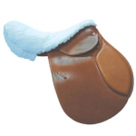 Fleece English Saddle Seat Saver