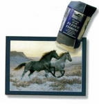 Fleece Horse Throw Blanket