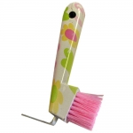 Floral Pattern Hoof Pick Brush