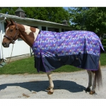 Free Runner Fun Print Turn Out Blanket  68